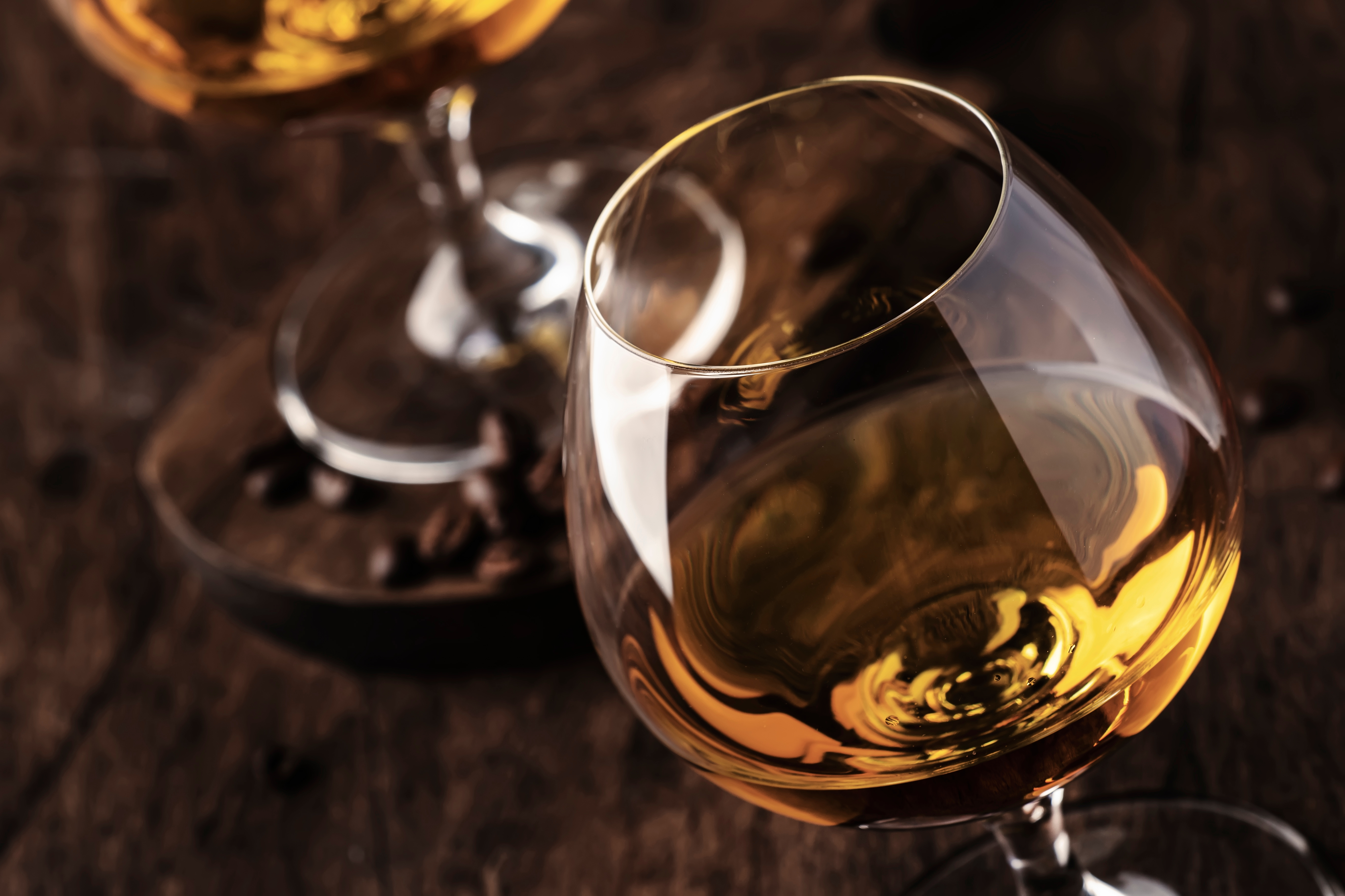 Armagnac,,French,Grape,Brandy,,Strong,Alcoholic,Drink.,Still,Life,In