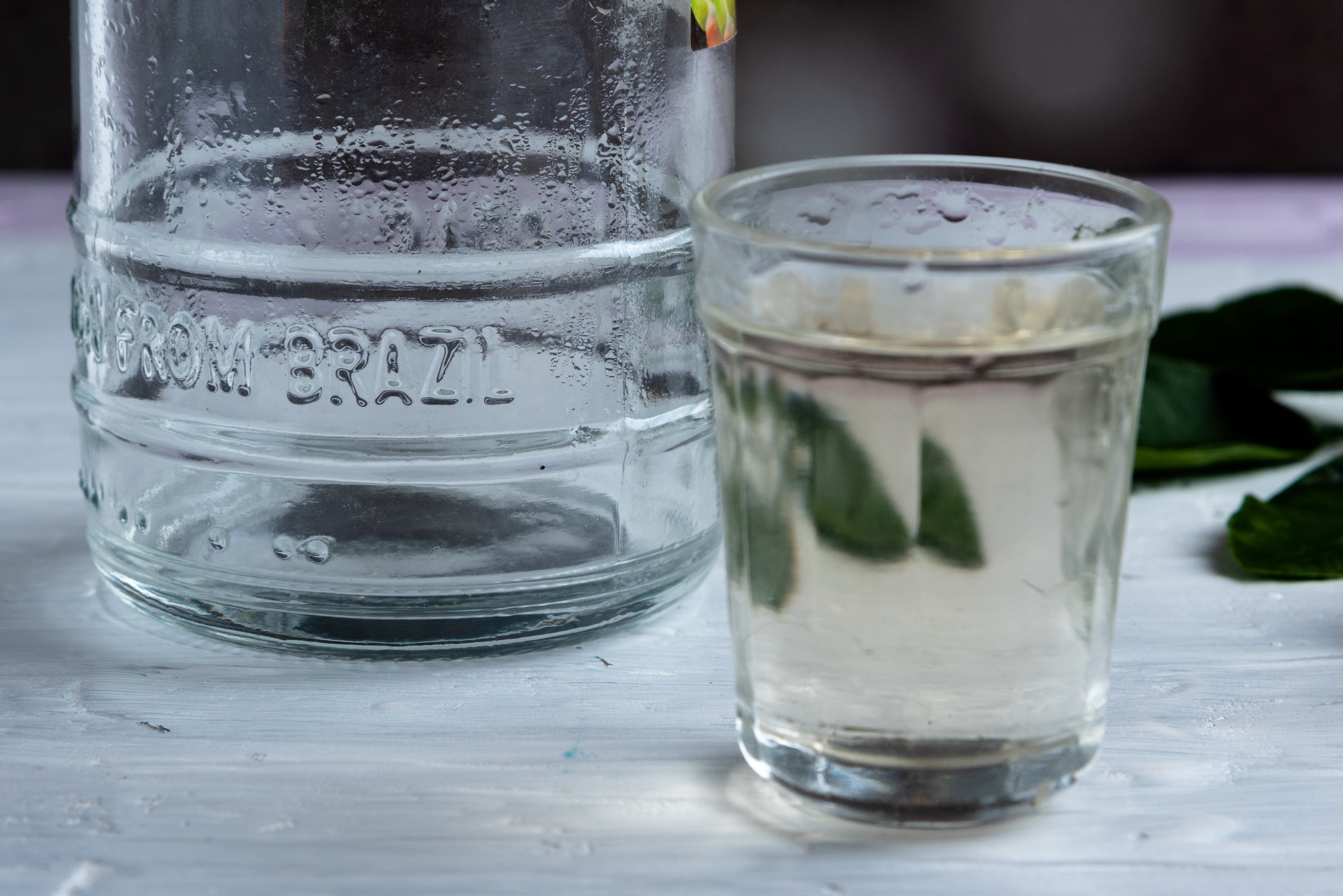 Glasses,Of,Cachaca,Typical,Brazilian,Drink,On,A,Rustic,White